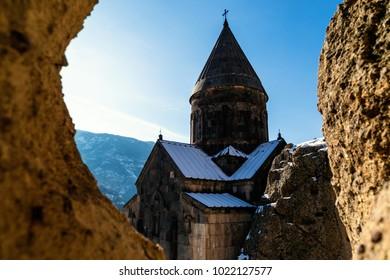Geghard temple in Armenia