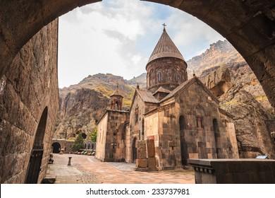 Geghardavank or Geghard monastery is an Orthodox Christian monastery located in Kotayk Province of Armenia