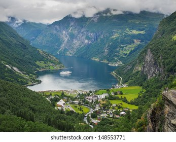 Geiranger fiord - the most bveautifull fiord in the world