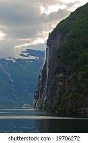 Geiranger fjord, More og Romsdal county Norway
