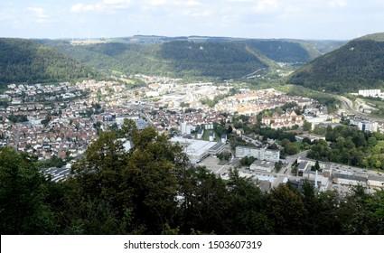 """Geislingen"" City from Baden-Württemberg, germany"