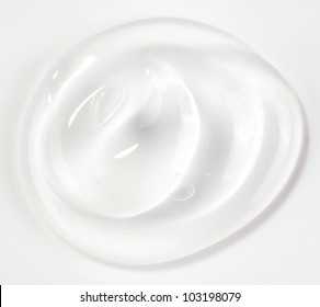 gel isolated on white