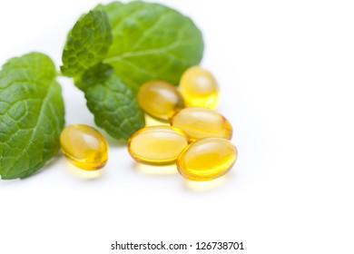 Gel vitamin capsules