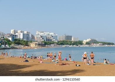 Gelendzhik Krasnodar Krai Russia August 23 People Stock Image 1296110560