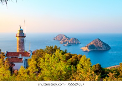 Gelidonya lighthouse on Lycian Way