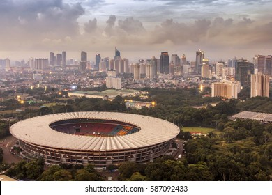 The Gelora Bung Karno Main Stadium is a multi-purpose stadium located within in Central Jakarta, Indonesia. The stadium is named after Sukarno, Indonesia's first President. 11 December 2013