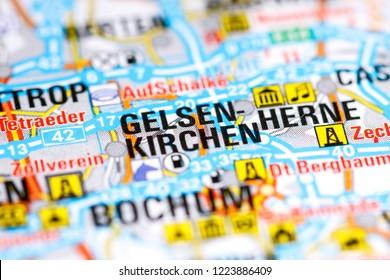 Map Of Germany Gelsenkirchen.Bilder Stockfotos Und Vektorgrafiken Gelsenkirchen City Shutterstock