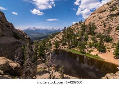 Gem Lake at Rocky Mountain National Park, Colorado