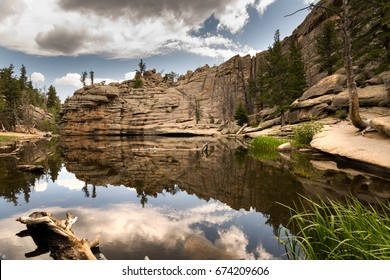 Gem Lake at Rocky Mountain National Park, Colorado