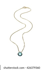 Gem stone necklace