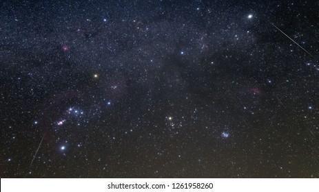 Gemini meteor shower and Comet Wirtanen
