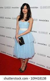 Gemma Chan arriving for the Glamour Women Of The Year Awards 2012, at Berkeley Square, London. 29/05/2012 Picture by: Steve Vas / Featureflash