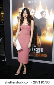 "Gemma Chan at the Los Angeles premiere of ""Jack Ryan: Shadow Recruit"" held at the TCL Chinese Theatre in Los Angeles on January 15, 2014 in Los Angeles, California."