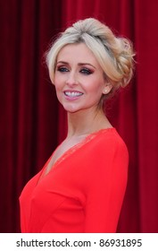 Gemma Merna arrives for the 2011 Soap Awards held at Granada Studios in Manchester. 14/05/2011. Picture by Simon Burchell/Featureflash