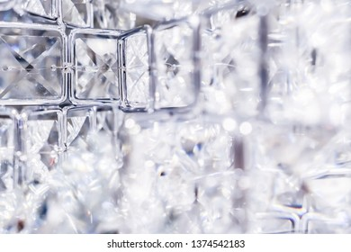 Gemstone, jewellery design and luxurious shopping concept - Diamonds and crystals, luxury textured background