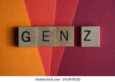 Gen Z, buzzword short for Generation Z, people born between 1995 to 2010