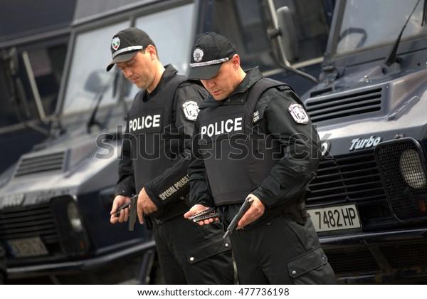 Gendarmerie, Sofia, Bulgaria, April 4, 2014