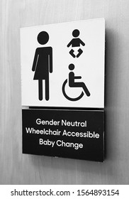 Gender Neutral bathroom in Canada