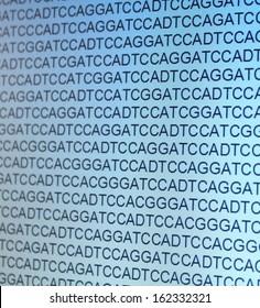 gene sequence