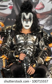 Gene Simmons at the KISS & Motley Crue Press Conference, Roosevelt Hotel, Hollywood, CA 03-20-12