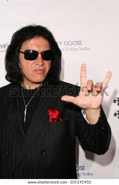 Gene Simmons  at the Rally For Kids With Cancer 'The Winner's Circle' Gala Dinner. Private Location, Beverly Hills, CA. 05-02-09
