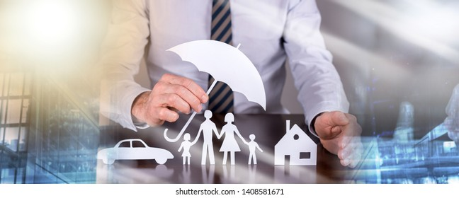 General agent protecting a family, a house and a car; multiple exposure