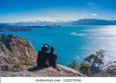 General Carrera Lake, Carretera Austral, Patagonia - Chile.