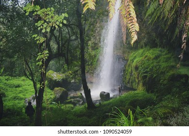 The General China Waterfall in Ragia Forest, Aberdare Ranges, Kenya