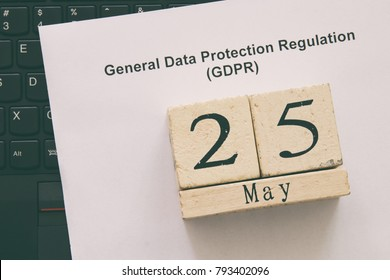 General Data Protection Regulation (GDPR) concept
