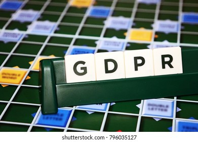 General Data Protection Regulation (GDPR) Board Game Tiles