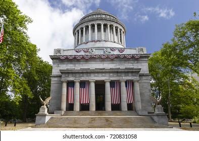 General Grant National Memorial in Riverside Park in the Morningside Heights neighborhood of Upper Manhattan in New York City