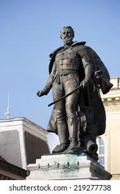 General Klapka statue, hungarian revolution and war of independence
