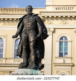 General Klapka statue, hungarian revolution and war of independence, Komarno, Slovakia