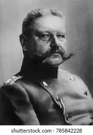 General Paul von Hindenburg, 1915, German military and defacto political leader during World War 1