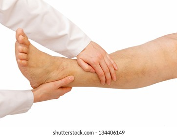 General physical examination for the lower limbs