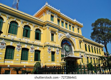 General Post Office in Saigon, Vietnam.