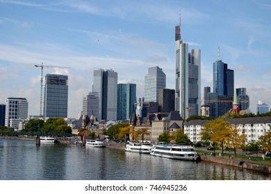 general view of the Frankfurt am main