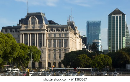 General view on Nestor Kirchner Cultural Center in Buenos Aires in Argentina