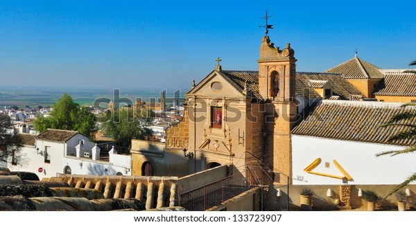 A general view of Osuna, a village in the province of Seville, in the south of Spain