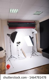 general view of the photographic studio
