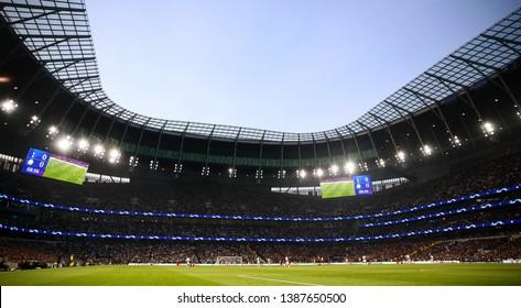 General view of the Tottenham Hotspur Stadium - Tottenham Hotspur v Ajax, UEFA Champions League Semi Final - 1st Leg, Tottenham Hotspur Stadium, London - 30th April 2019