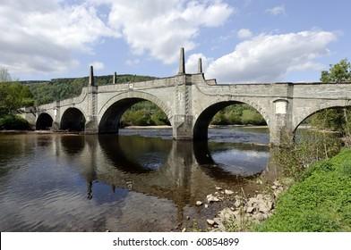 General Wades Bridge in Aberfeldy Perth and Kinross Scotland built in 1733