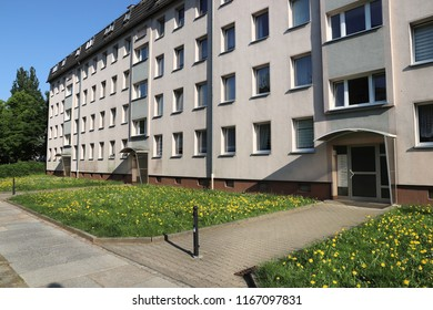 Generic apartment buildings in Chemnitz, Germany.