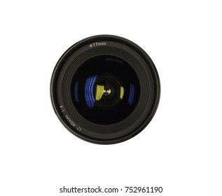 Generic Cameral Lens isolated on white