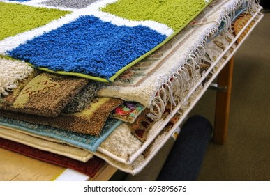 Generic carpets sold as overstock.