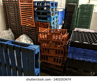 Generic Commercial Warehouse contents stacked