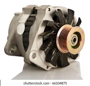 Generic electric automotive alternator isolated