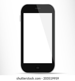 Generic smartphone with white display