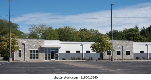 Generic Stone & White Building