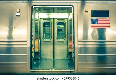 Generic underground train - New York City